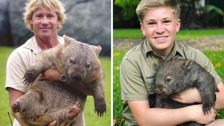 Masih Ingat Steve Irwin? Kecintaan Pada Hewan Turun ke Sang Anak