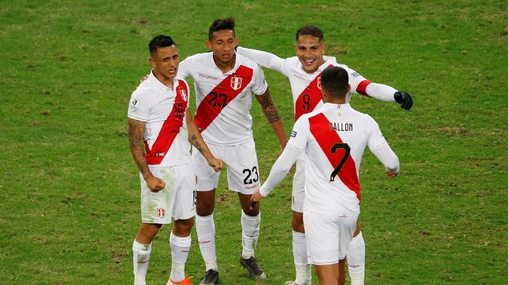 Gol-gol yang Antar Peru ke Final Copa America