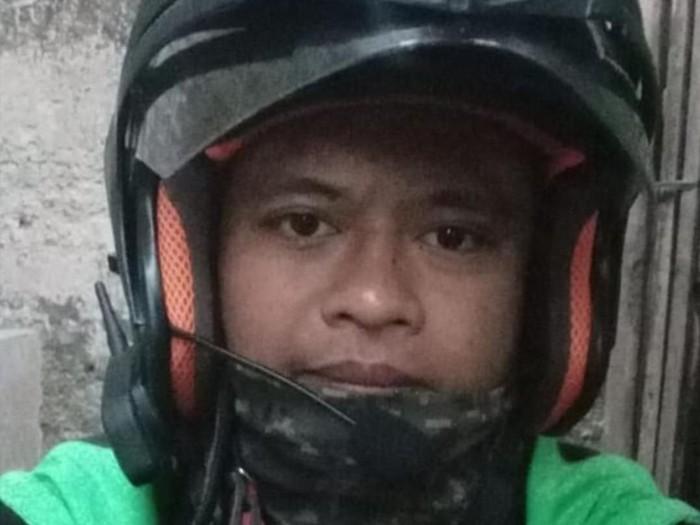 Helm canggih abang ojol. (Foto: dok. Darmawan Septian/Istimewa)
