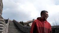 Dong yang menjelajahi Tembok Besar China dengan berjalan kaki (CNN Travel)