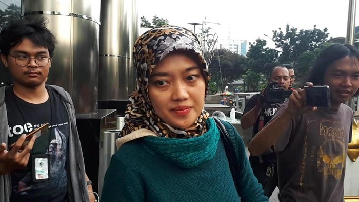 Wakil Gubernur Lampung Chusnunia Chalim (Nunik) (Haris Fadhil/detikcom)