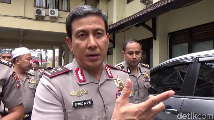 Kapolda DIY, Irjjen Pol Ahmad Dofiri, Jumat (5/7/2019).