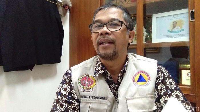 Kepala Pelaksana Badan Penanggulangan Bencana Daerah (BPBD) DIY, Biwara Yuswantana. Foto: Usman Hadi/detikcom