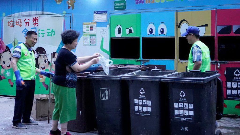 Shanghai Bikin Aturan Baru Soal Sampah, Pelanggar Bisa Didenda Rp 102 Juta