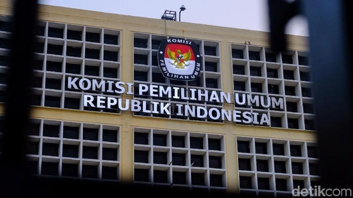 Ilustrasi gedung KPU
