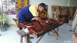 Bisnis Mebel Lesu Jadi Pemicu Saiful Huda Sulap Limbah Kayu Jadi Karya Seni