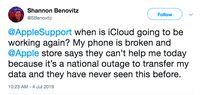 Tak Hanya WhatsApp Cs, Ternyata iCloud Apple Sempat Down