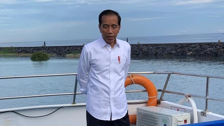 Jokowi Ingin Kawasan Wisata dan Permukiman di Bunaken Ditata Ulang