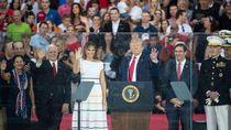 Trump Janji Kibarkan Bendera AS di Planet Mars