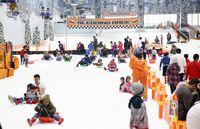 Akses Mudah Capai Trans Snow World Naik Kendaraan Umum