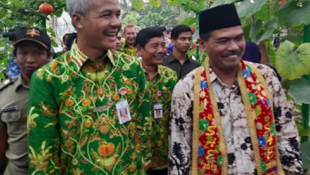Gubernur Jateng Nilai Mentan Mampu Pacu Neraca Perdagangan