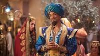 Tak lagi menjadi manusia,baru-baru ini Will Smith berperan sebagai Jin di Aladdin.Dok. Ist