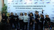 Menpar Jajal Terminal Eksekutif Merak Sosro di Banten