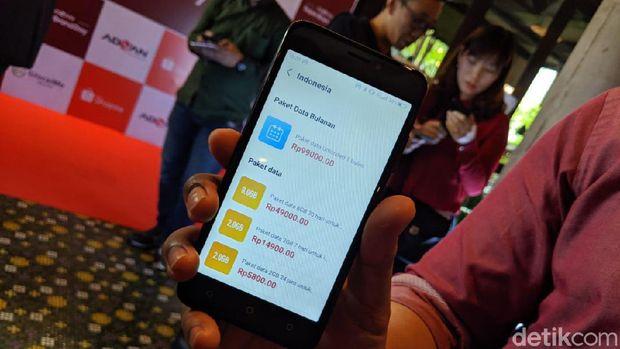 Advan S50 Prime, Ponsel Murah yang Bisa 'Memburu Sinyal'