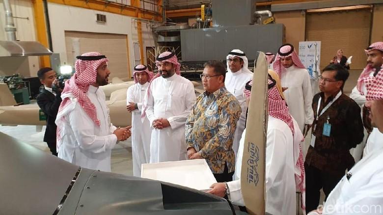 Foto: Saker, Drone Militer Andalan Arab Saudi