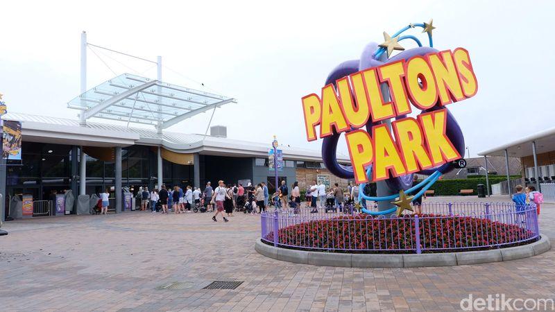 Inilah Peppa Pig World, terletak di taman rekreasi Paultons Park yang bertema keluarga babi lucu di Southampton, Inggris (Andi Saputra/detikcom)