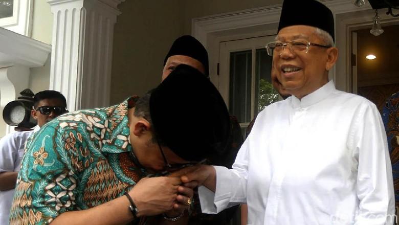 Cak Imin Minta Restu Lobi Jadi Ketua MPR, Maruf Amin Siap Dukung