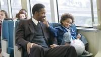 Selain pintar menjadi agen/polisi, Will Smith juga handal menguras air mata seperti di film The Pursuit of Happiness.Dok. Ist