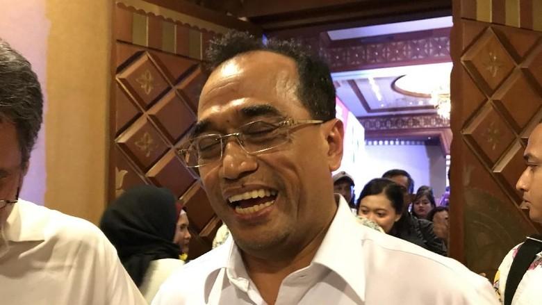 Ditanya Harapan Jadi Menteri Lagi, Budi Karya: Yang Penting Kerja