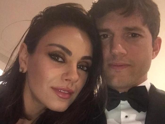 Ashton Kutcher dan Mila Kunis