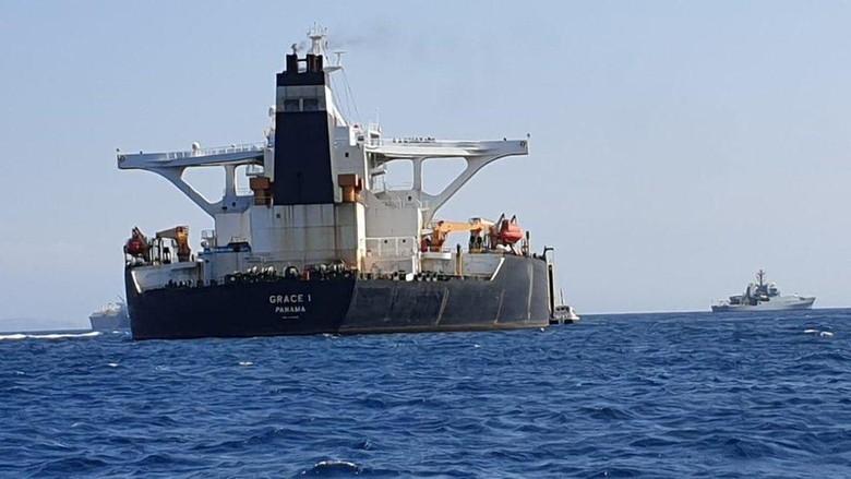 Iran Desak Inggris Segera Bebaskan Kapal Tankernya