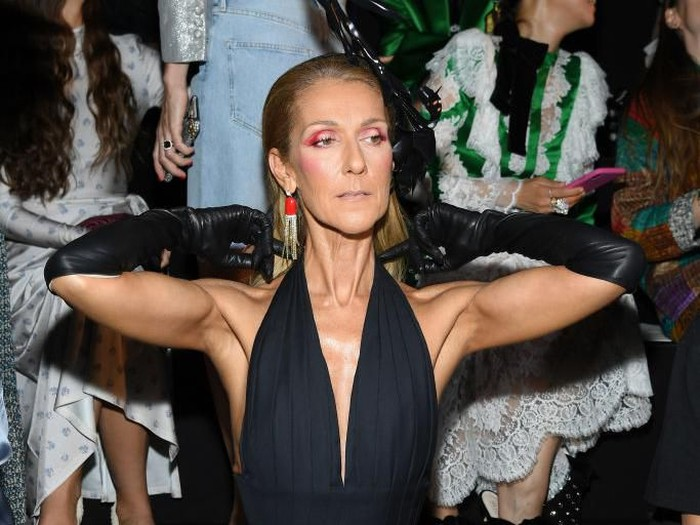 PARIS, FRANCE - JULY 01: Celine Dion attends the Schiaparelli Haute Couture Fall/Winter 2019 2020 show as part of Paris Fashion Week on July 01, 2019 in Paris, France. (Photo by Pascal Le Segretain/Getty Images)