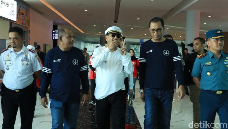 Foto: Menteri Pariwisata Arief Yahya (tengah) (Johanes Randy/detikcom)