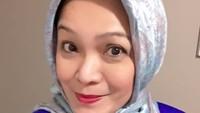 Zara memakai hijab. Foto: Instagram
