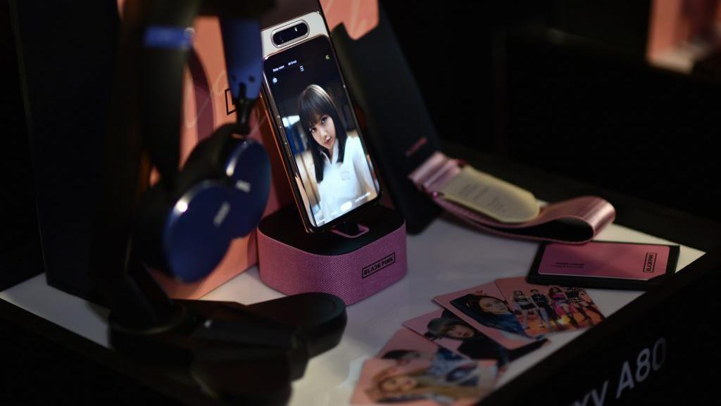 Siap-siap BLINK, Samsung Bikin Galaxy A80 Edisi BLACKPINK