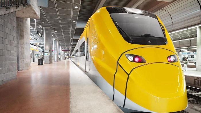 Kereta cepat yang melayani rute kota Stockholm ke Stockholm Arlanda Airport ini sangat canggih. Waktu tempuhnya hanya 20 menit, dengan headway setiap 10 menit di jam-jam sibuk.Foto: Dok. TranToTheAirport.com
