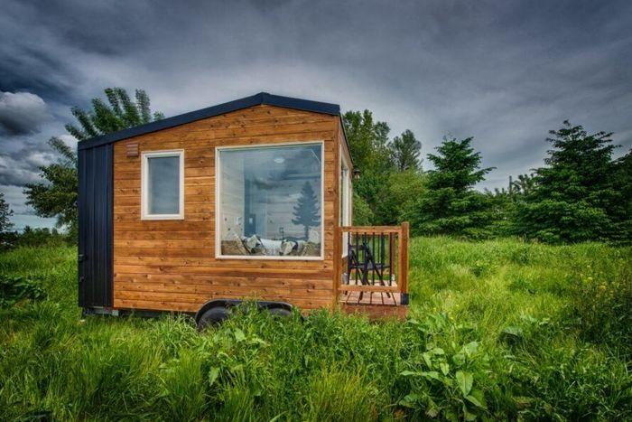 Rumah ini dirancang dengan sistem isolasi yang canggil sehingga dapat menghadapi iklim yang sangat ekstrim. Istimewa/Dok. Inhabitat.