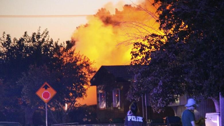 Gempa M 6,9 di California Selatan Picu Kerusakan dan Kebakaran