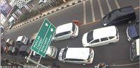 Kondisi lalu lintas di Exit Tol Ciawi menuju Puncak
