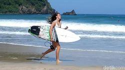 Absen 3 Tahun, Pantai Pulau Merah Kembali Gelar Kompetisi Surfing
