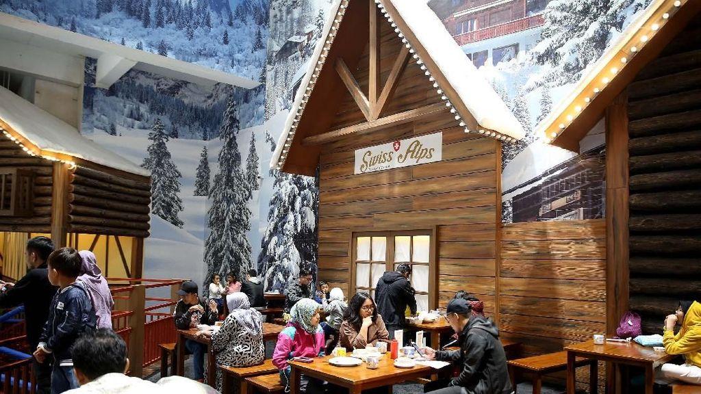 Mencicipi Kuliner Nikmat Swiss Alp di Tengah Dingin Salju Bekasi