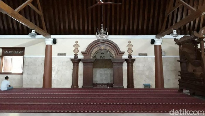 Masjid Agung Surakarta, Sabtu (6/7/2019).