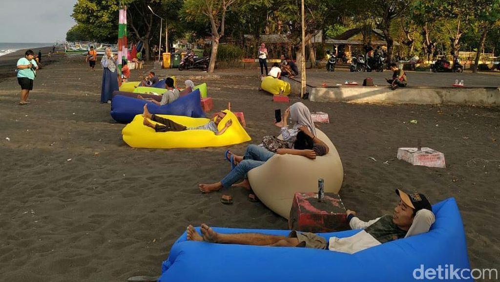 Pantai Pulau Santen Terkini di Banyuwangi, Tak Ada Pemisahan Pria Wanita