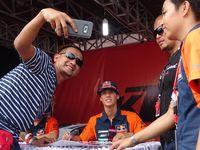 Warga Palembang Padati Jakabaring Tonton Balapan Motorcross MXGP