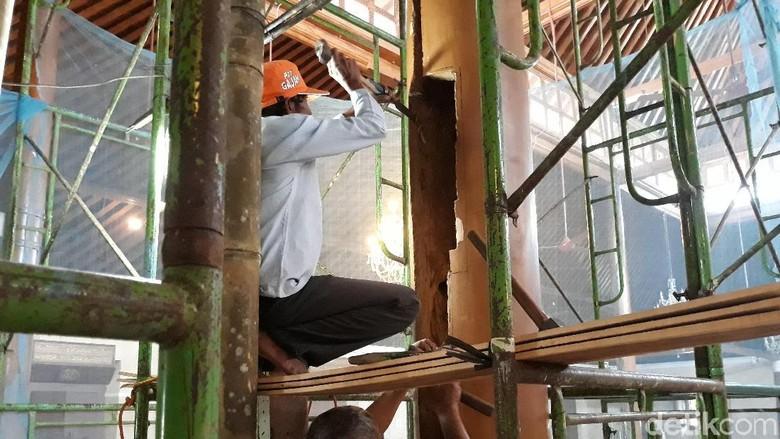 Ternyata Tiang Masjid Agung Surakarta Rusak karena Salah Teknik Renovasi