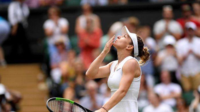 Simona Halep melenggang ke babak keempat Wimbledon 2019. (Foto: Shaun Botterill/Getty Images)