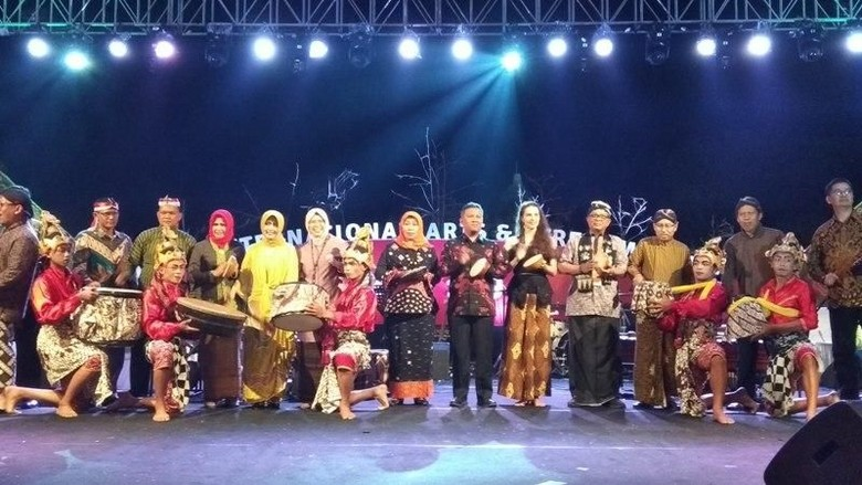 Foto: Borobudur International Arts and Performance Festival (BIAPF) 2019 (Eko Susanto/detikcom)