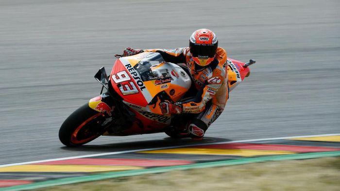 Rider Honda Marc Marquez Menjadi Yang Tercepat Di Kualifikasi Motogp Jerman Foto