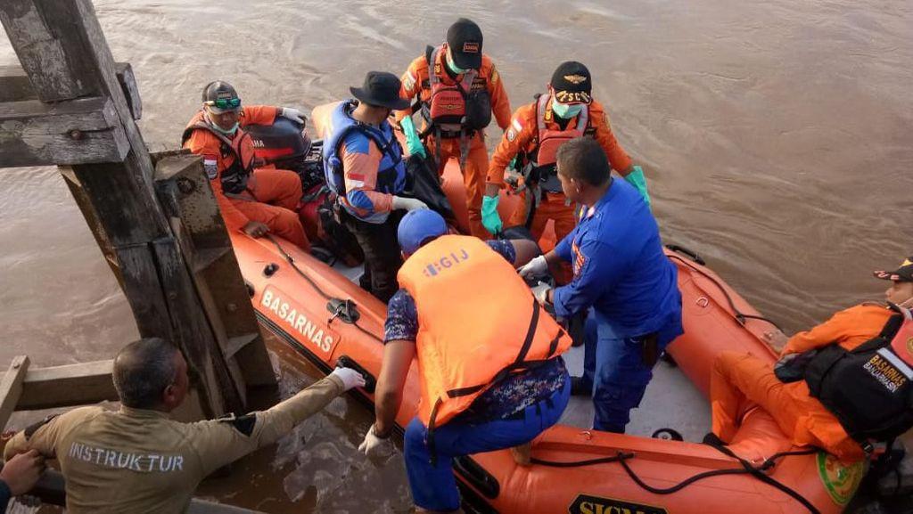 Ibu-Anak di Mobil yang Nyemplung di Sungai Kahayan Ditemukan Tewas
