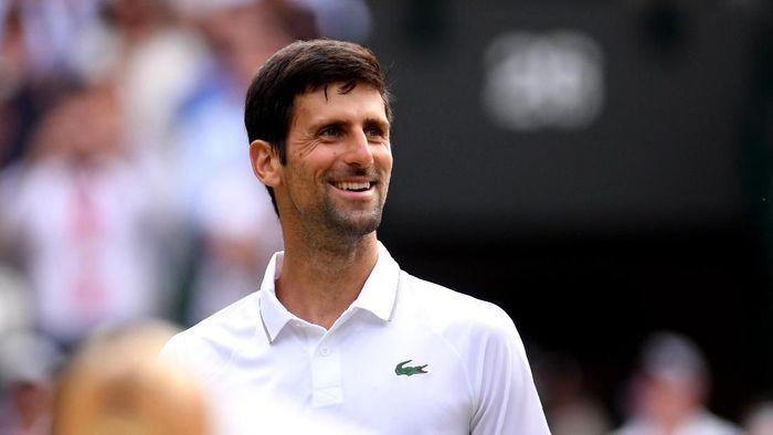 Novak Djokovic lolos ke babak keempat Wimbledon 2019. (Foto: Laurence Griffiths/Getty Images)