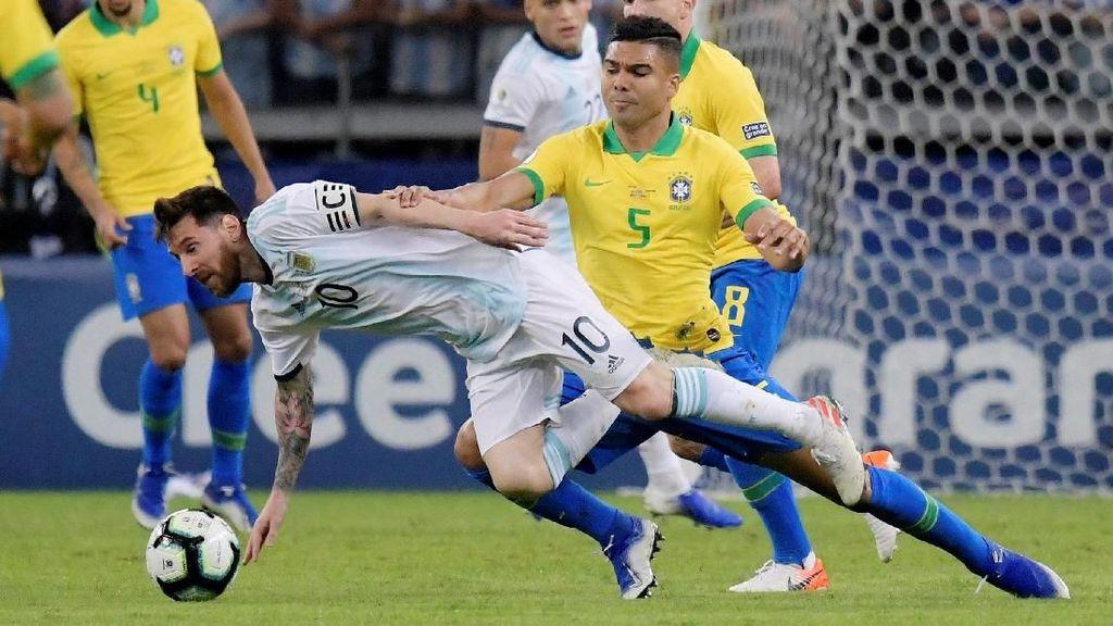 Casemiro Ungkap Rahasia Pertahanan Solid Brasil di Copa America 2019