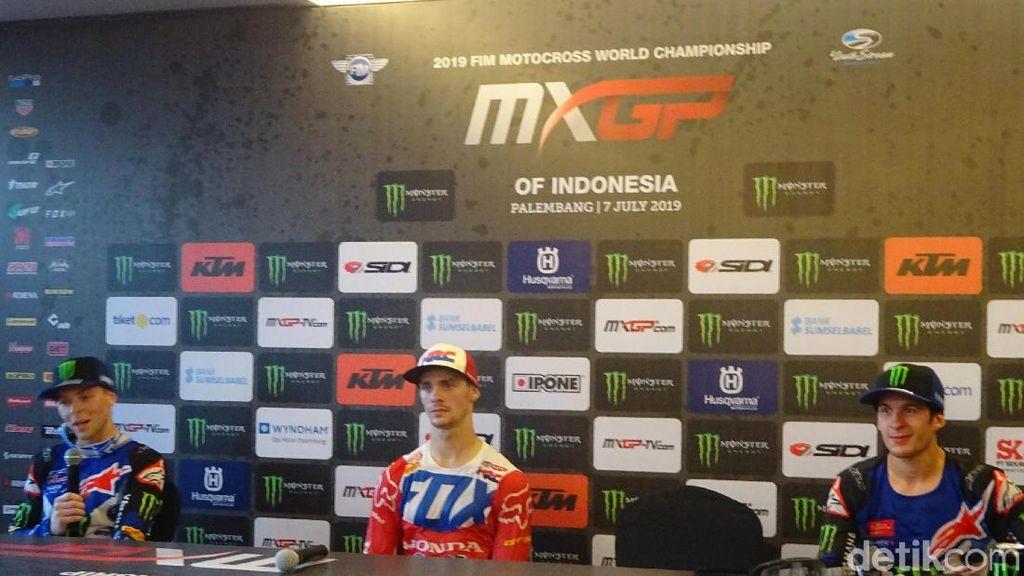 Juara MXGP Palembang, Tim Gasjer Akui Sempat Kesulitan Lewati Trek