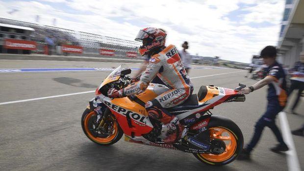 Marc Marquez lebih difavoritkan menang di MotoGP Jerman. (