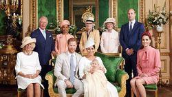 William-Kate Dinilai Canggung di Pembaptisan Putra Harry-Meghan Markle