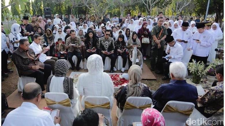 Tahlilan 40 Hari Meninggalnya Ani Yudhoyono Digelar di Cikeas Malam Ini