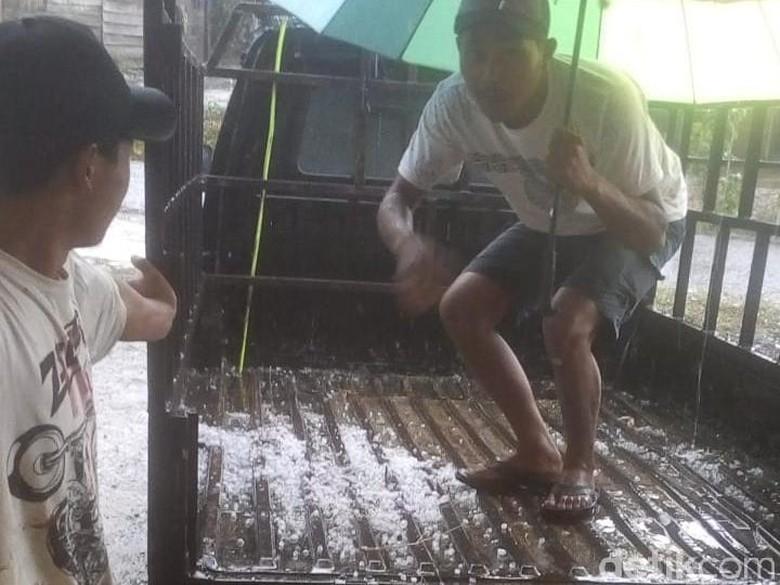 Hujan Es Sempat Guyur 5 Desa di Aceh Tengah